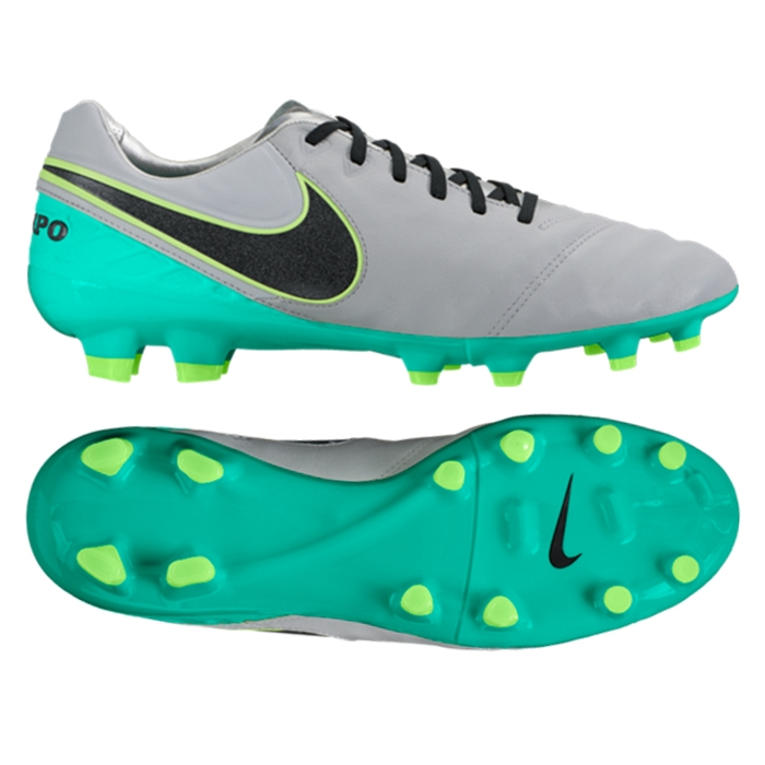 27820dc34 Nike Tiempo Legacy II FG Soccer Cleats (Wolf Grey Black Clear Jade ...