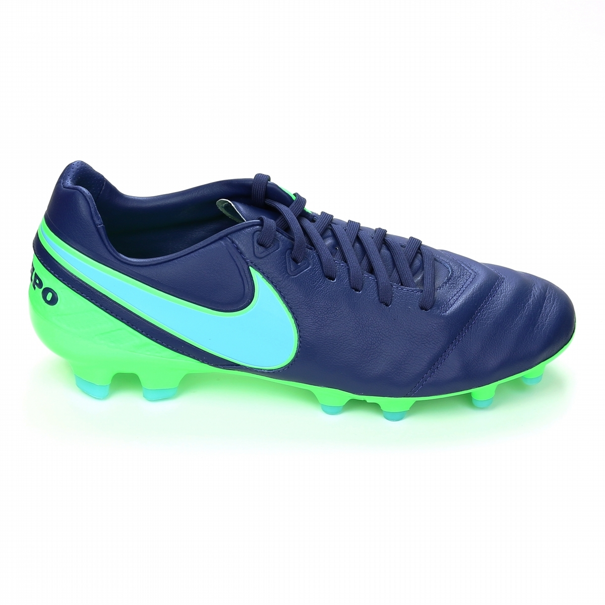 reputable site 184e6 d17ed Nike Tiempo Legacy II FG Soccer Cleats (Coastal Blue Polarized ...