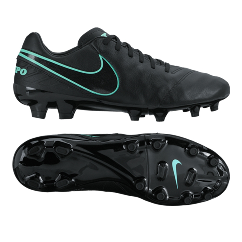 all black nike tiempo cleats
