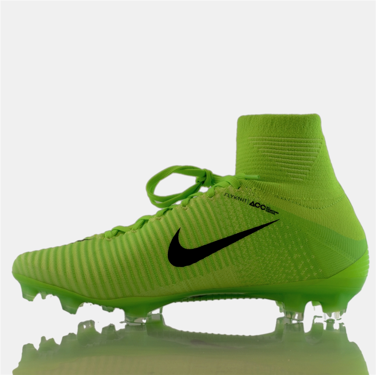 sale retailer 7a0c6 c2c6e Nike Mercurial SuperFly V FG Soccer Cleats (Electric Green Black Ghost ...