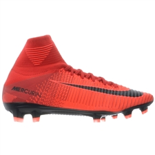 Nike Mercurial SuperFly V FG Soccer Cleats (University Red/Black/Bright Crimson)