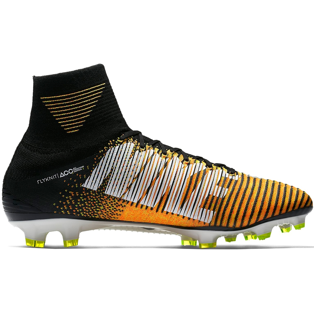 4b9c836821b1 Nike Mercurial SuperFly V FG Soccer Cleats (Laser Orange/Black/White ...