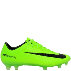 Nike Mercurial Vapor XI FG Soccer Cleats (Electric Green/Black/Flash Lime/White)