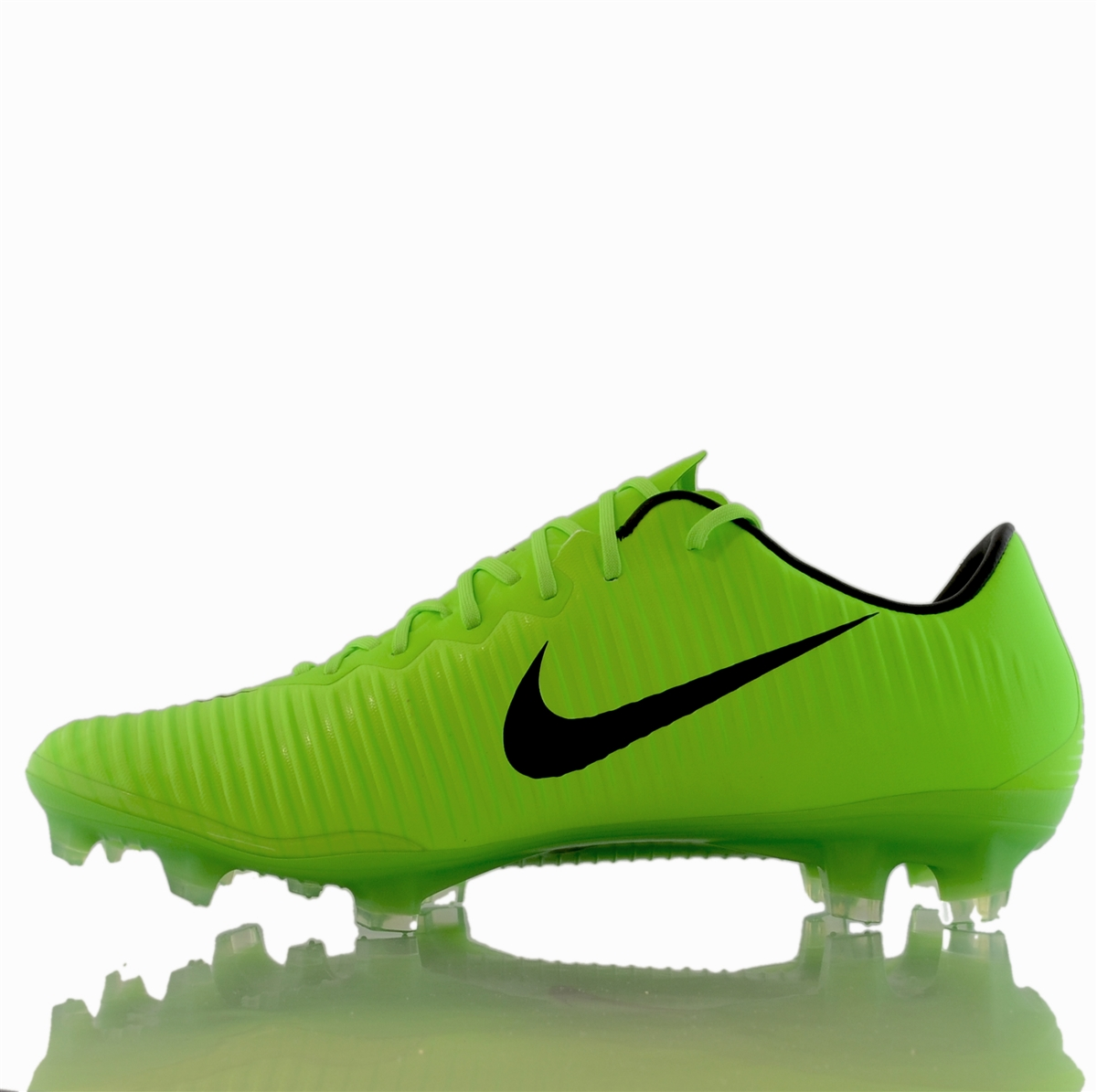 the latest 69884 a3771 Nike Mercurial Vapor XI FG Soccer Cleats (Electric Green/Black/Flash  Lime/White)