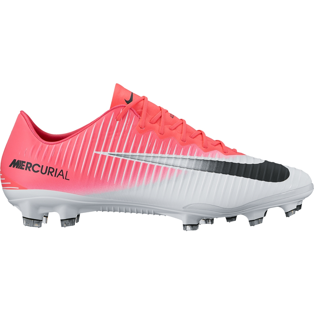 separation shoes 2018 shoes free delivery Nike Mercurial Vapor XI FG Soccer Cleats (Racer Pink/Black/White)