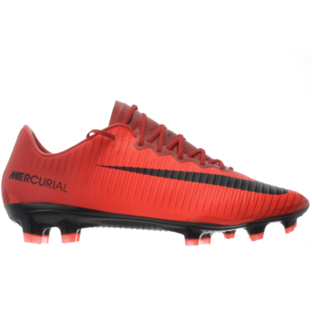 new arrival b0386 944db Nike Mercurial Vapor XI FG Soccer Cleats (University Red/Black/Bright  Crimson)