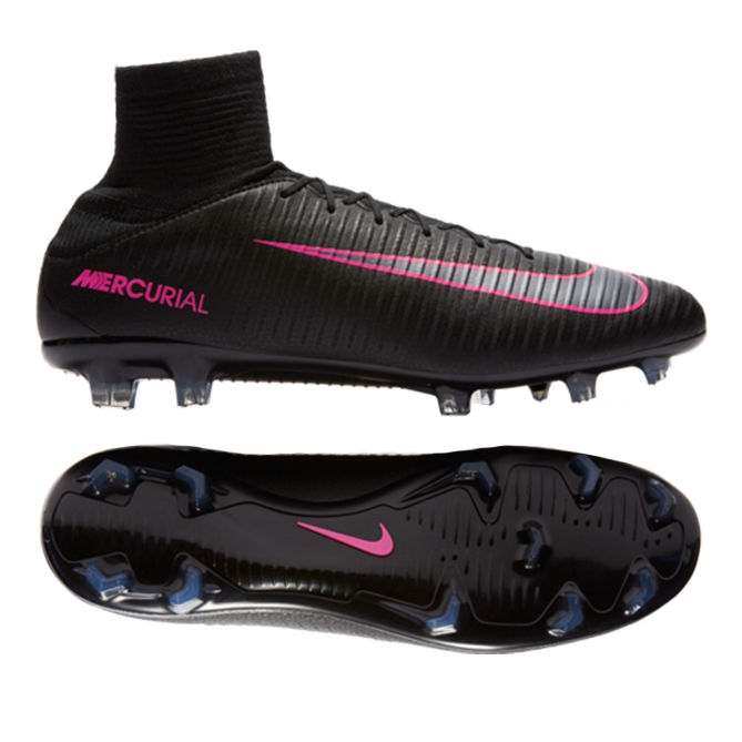 separation shoes promo codes many styles Nike Mercurial Veloce III FG Soccer Cleats (Black/Black)