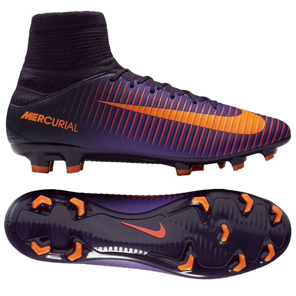 e2b9e197b46 ... amazon nike mercurial veloce iii fg soccer cleats purple dynasty bright  citrus hyper grape 1149a 333f4
