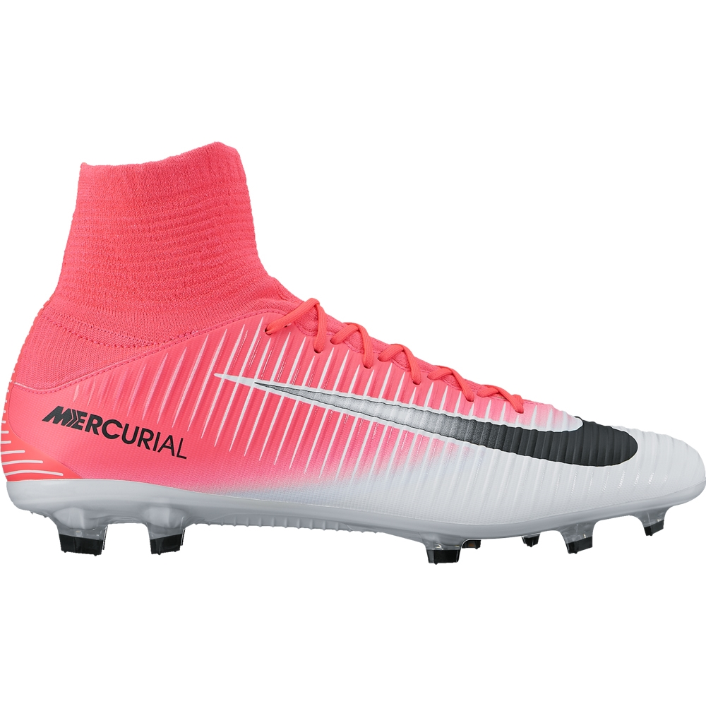 f0c751c93d0c Nike Mercurial Veloce III DF FG Soccer Cleats (Racer Pink Black ...