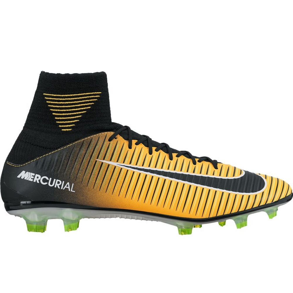 6880a84ffb3a ... Nike Mercurial Veloce III DF FG Soccer Cleats (Laser  Orange Black White  ...
