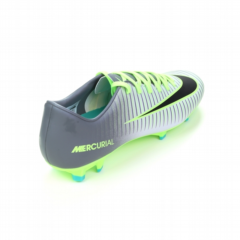 a0defbac0 Nike Mercurial Victory VI FG Soccer Cleats (Pure Platinum/Black/Ghost Green)