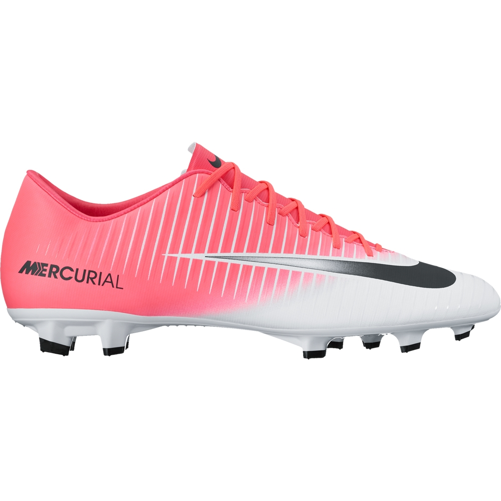 quality design 4c512 a5667 Nike Mercurial Victory VI FG Soccer Cleats (Racer Pink/Black/White)
