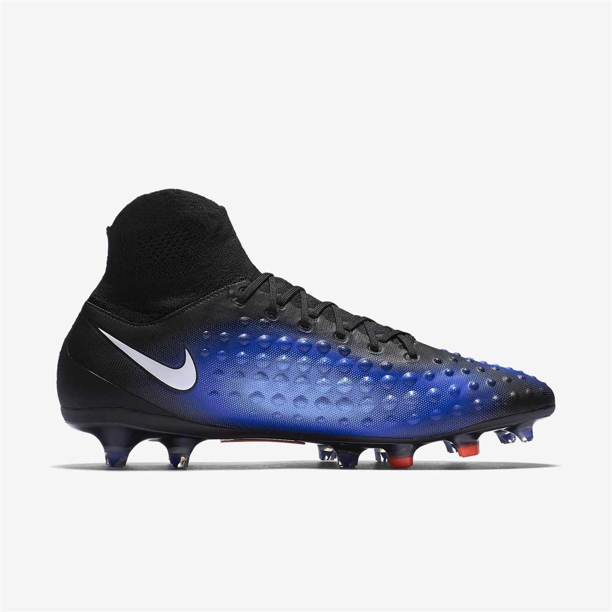 875e45fd2023 Nike Magista Orden II FG Soccer Cleats (Black White Paramount Blue ...