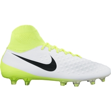 Nike Magista Orden II FG Soccer Cleats (White/Black/Volt/Pure Platinum)