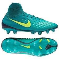 Nike Magista Orden II FG Soccer Cleats (Rio Teal/Volt/Obsidian/Clear Jade)