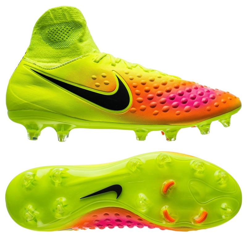 717ef8bf0bcf6 Nike Magista Orden II FG Soccer Cleats (Volt/Black/Total Orange/Pink ...