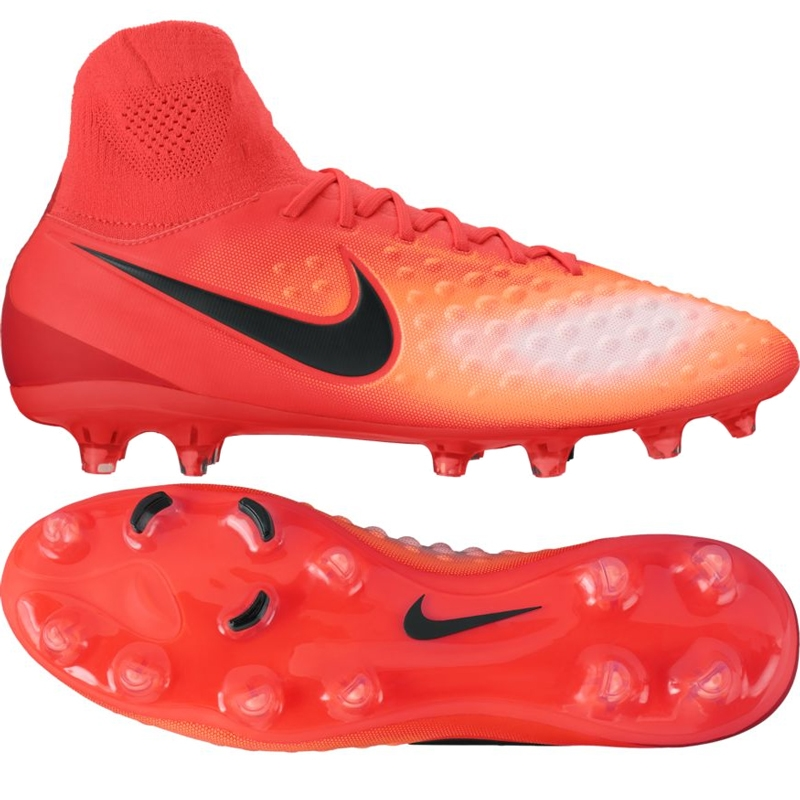daffae1cbe6d Nike Magista Orden II FG Soccer Cleats (Total Crimson Black ...