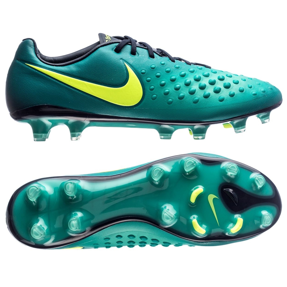 Weave Nike Tiemp Rio III Firm Ground Mens Soccer Cleats Jade Black Volt