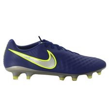 Nike Magista Opus II FG Soccer Cleats (Deep Royal Blue/Chrome/Total Crimson)