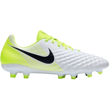 Nike Magista Onda II FG Soccer Cleats (White/Black/Volt/Pure Platinum)