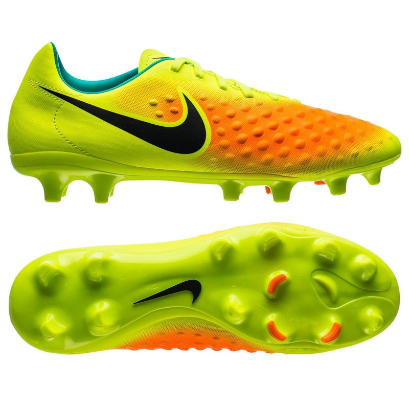 Magista Onda II FG Soccer Cleats (Volt Black Total Orange Pink Blast ... 05a209acbba2
