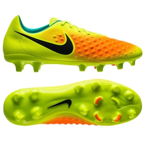 Nike Magista Onda II FG Soccer Cleats (Volt/Black/Total Orange/Pink Blast)