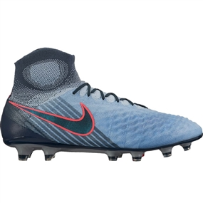 Nike Magista Obra II FG Soccer Cleats (Light Armory Blue/Armory Navy/Armory Blue)