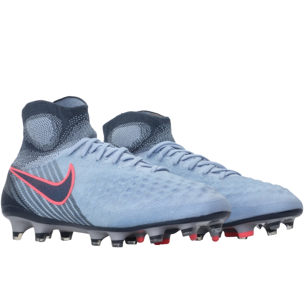 460128821 Nike Magista Obra II FG Soccer Cleats (Light Armory Blue Armory Navy Armory  ...