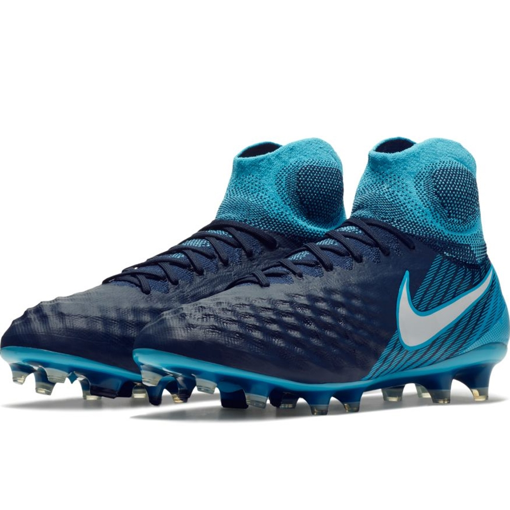 hot sale online 9247f c96be Nike Magista Obra II FG Soccer Cleats (ObsidianWhiteGamma BlueGlacier ...