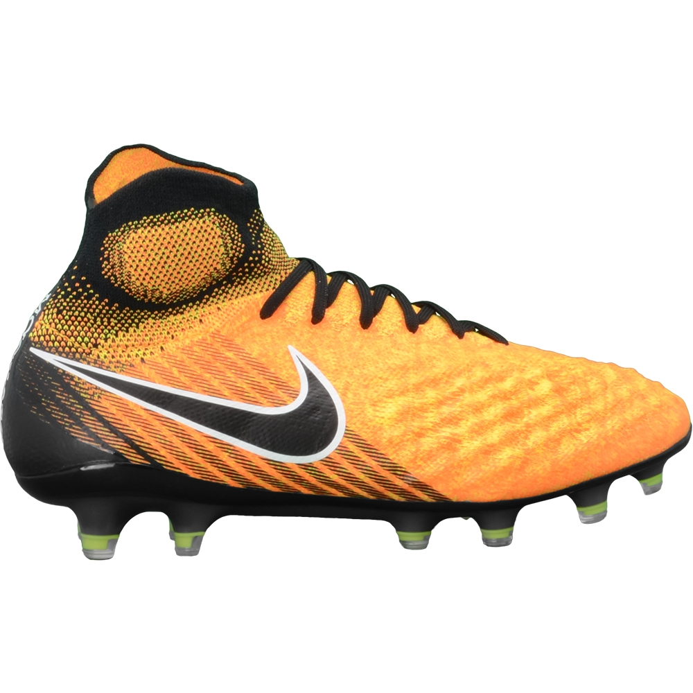 9a4491b00d13 Nike Magista Obra II FG Soccer Cleats (Laser Orange Black White Volt ...