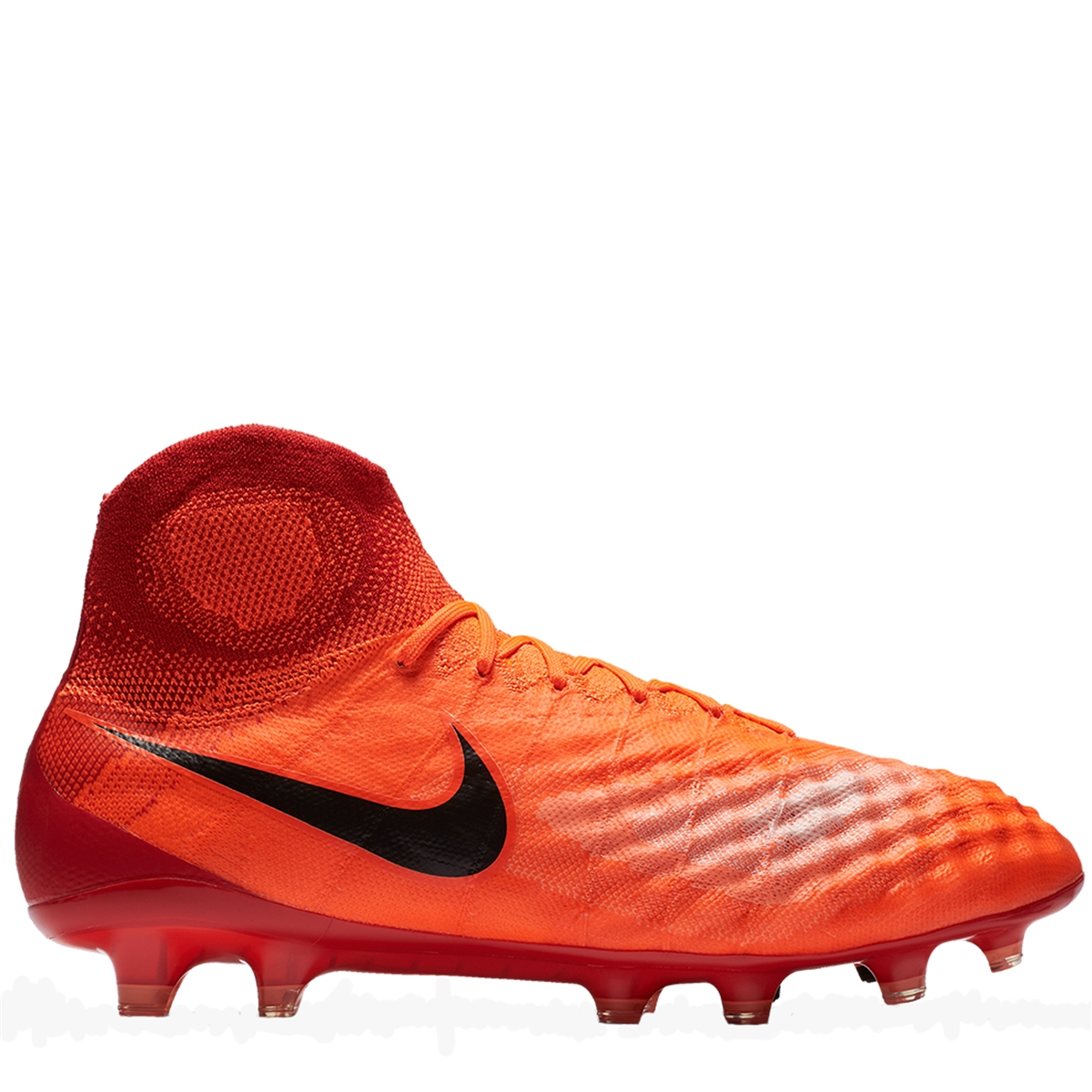 Nike Magista Obra II FG Soccer Cleats (Total CrimsonBlackUniversity Red)