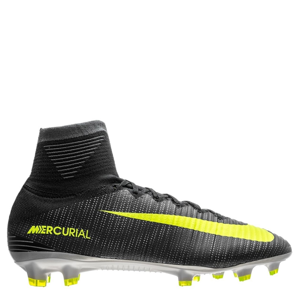 7dbad15b4d73 Nike Mercurial SuperFly V CR7 FG Soccer Cleats (Seaweed Volt Hasta ...
