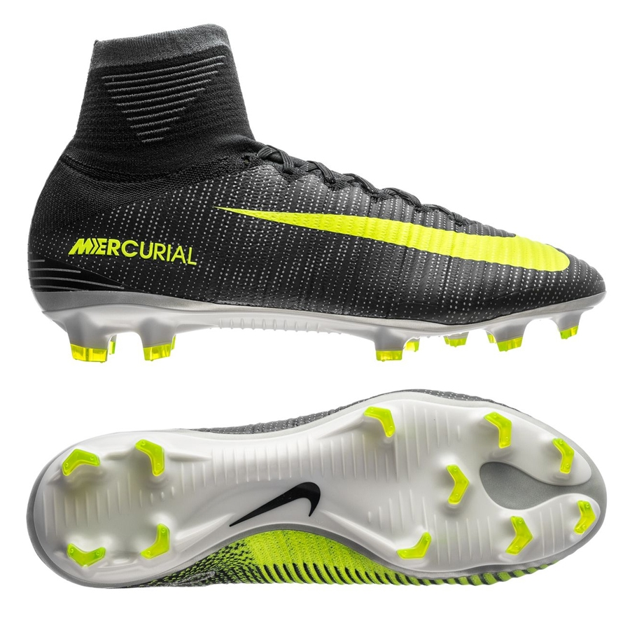 Nike Mercurial SuperFly V CR7 FG Soccer Cleats (Seaweed Volt Hasta ... 0cb3a6c8383a5