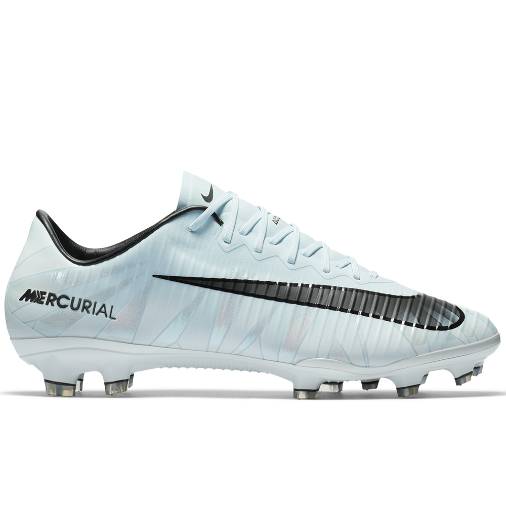 nike mercurial vapor xi cr7 fg soccer cleats blue tint black white 852514 401 nike soccer. Black Bedroom Furniture Sets. Home Design Ideas