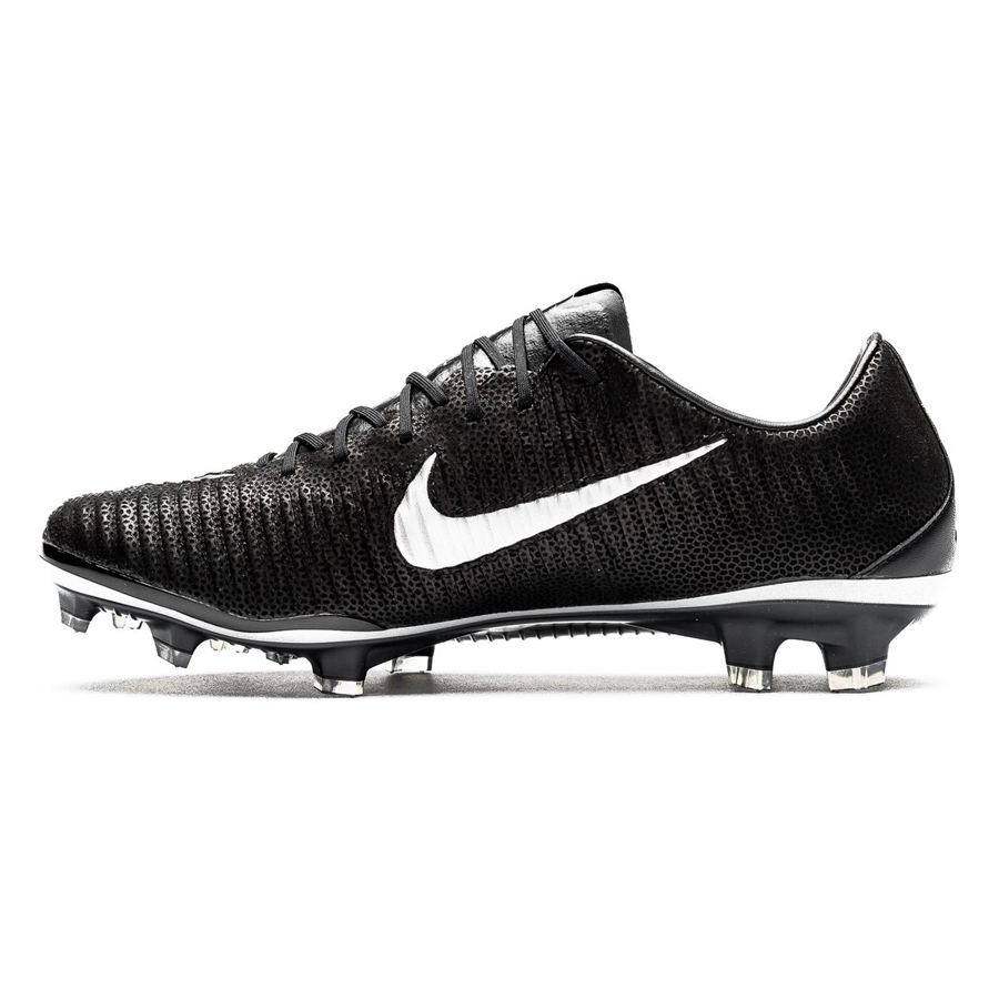 sneakers for cheap 67afb 90aa1 Nike Mercurial Vapor XI Tech Craft 2.0 (Leather) FG Cleats (Black Black)