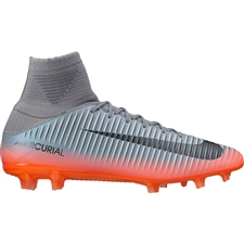 Nike Mercurial Veloce III CR7 DF FG Soccer Cleats (Seaweed/Volt/Hasta/White)