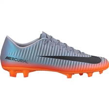 ... Nike Mercurial Victory VI CR7 FG Soccer Cleats (Cool Grey Metallic  Hematite Wolf 87773c5ddecd