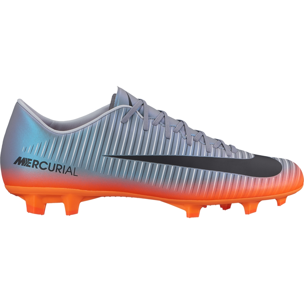Nike Mercurial Victory VI CR7 FG Soccer Cleats (Cool Grey Metallic ... 0687601d024