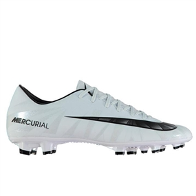 Nike Mercurial Victory VI CR7 FG Soccer Cleats (Blue Tint/Black/White)
