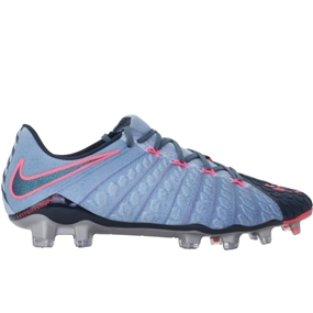 Nike Hypervenom Phantom III FG Soccer Cleats (Light Armory Blue/Armory Navy/Armory Blue)