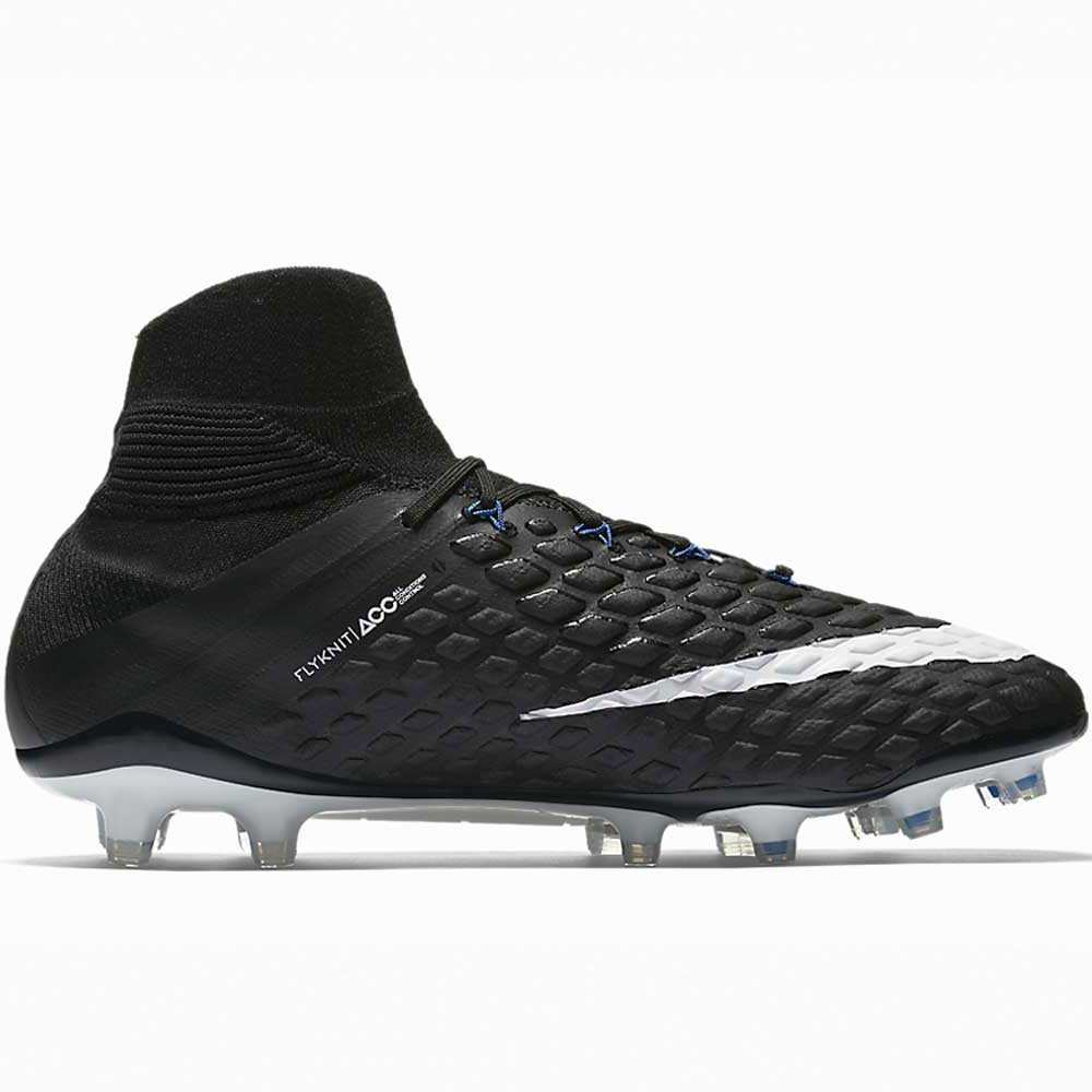 de18a730a6b8 Nike Hypervenom Phantom III DF FG Soccer Cleats (Black/White/Game ...