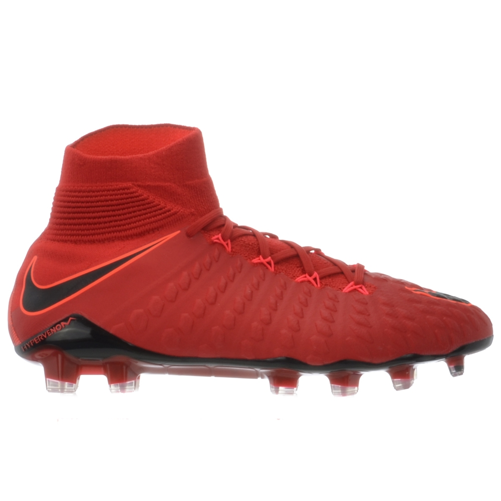 359281677d3 Nike Hypervenom Phantom III DF FG Soccer Cleats (University Red ...