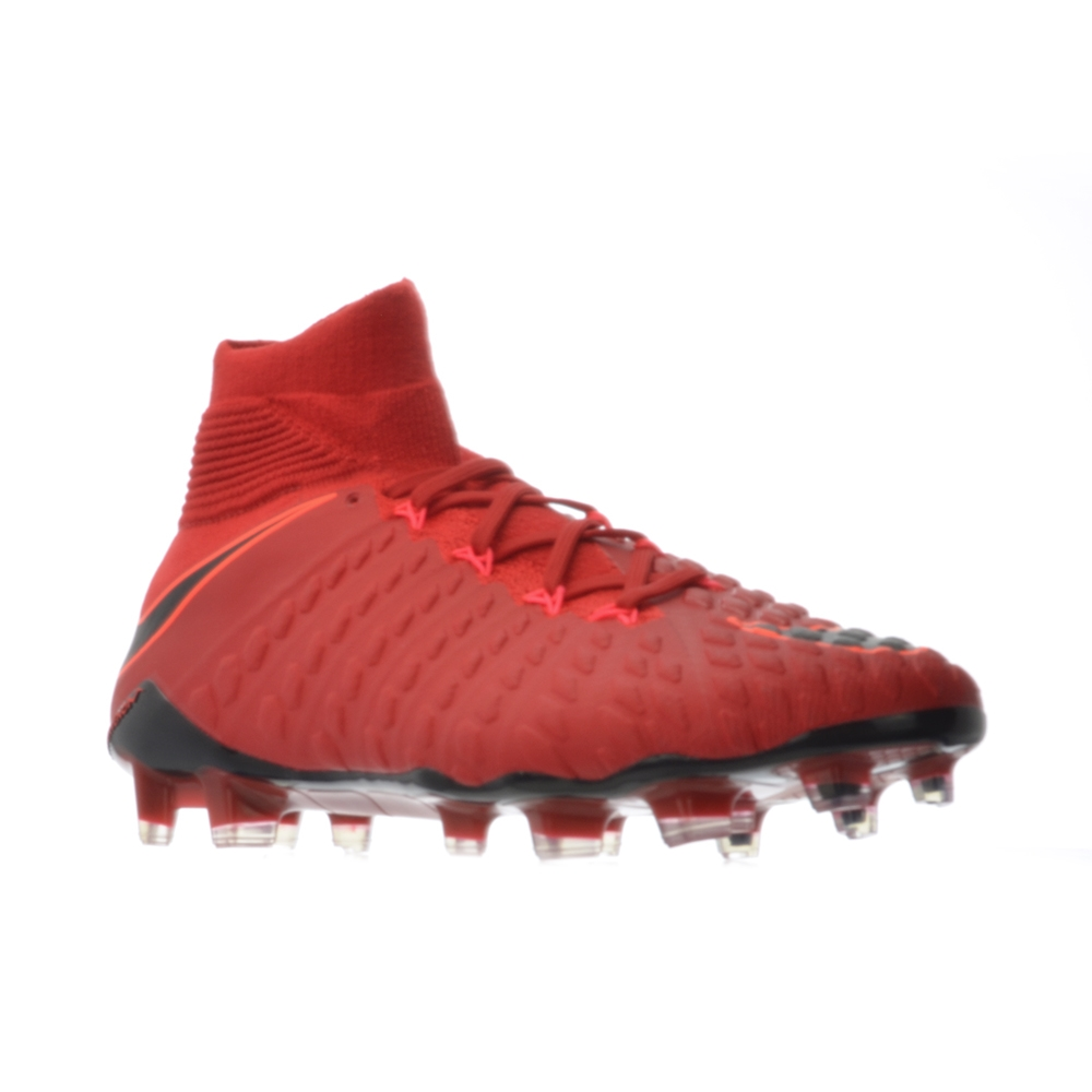 388bc252e15 Nike Hypervenom Phantom III DF FG Soccer Cleats (University Red ...