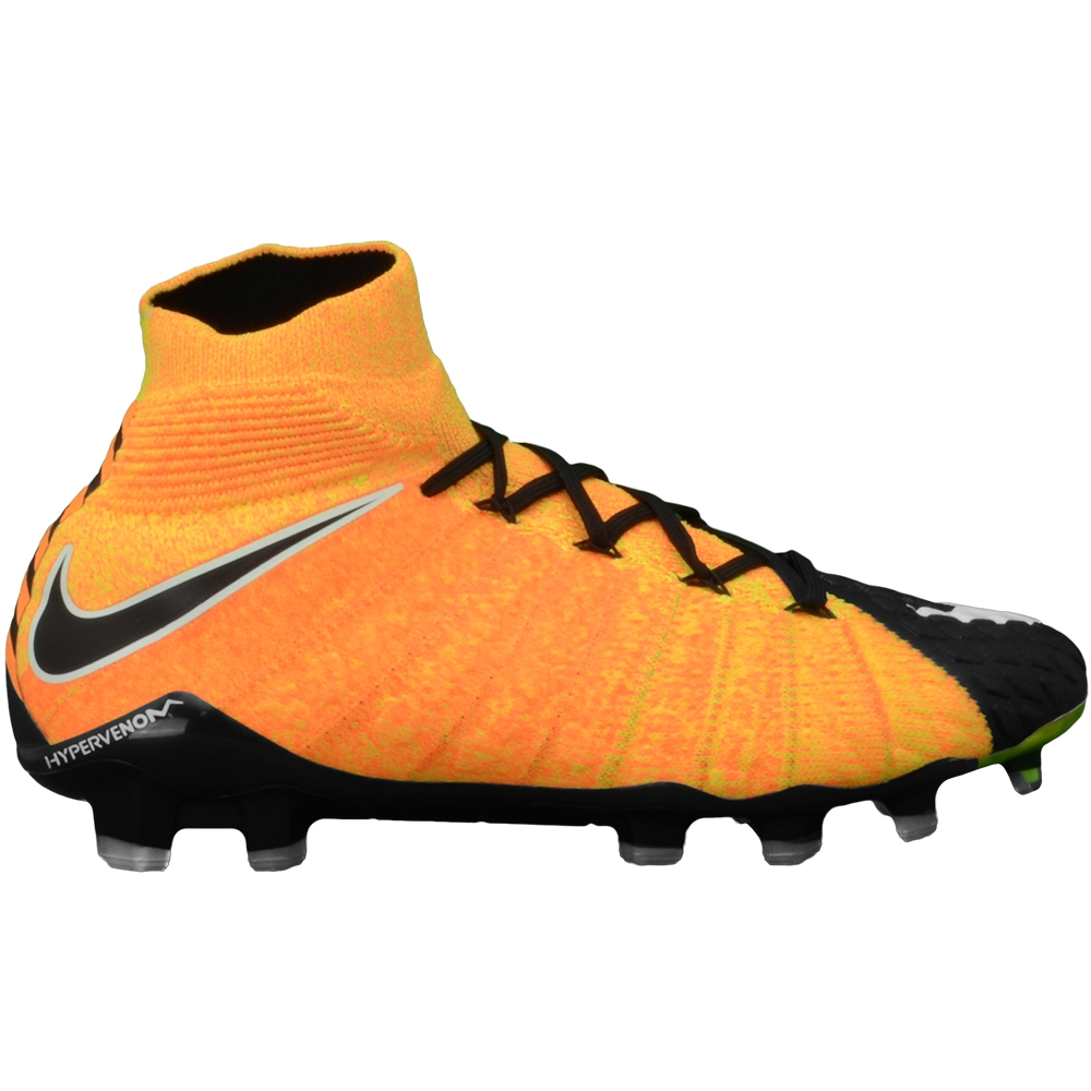 Nike Hypervenom Phantom III DF FG Soccer Cleats (Laser Orange White ... b3dbf6195