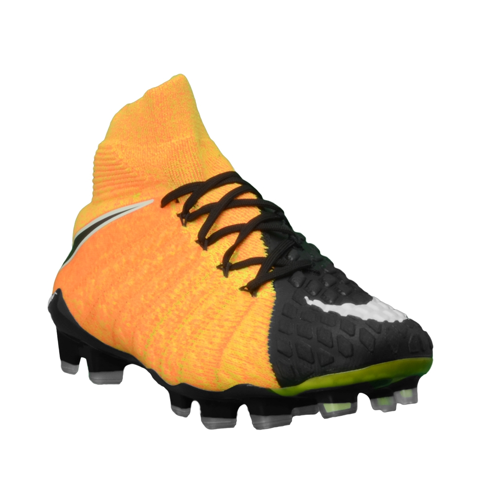 547960e413e Nike Hypervenom Phantom III DF FG Soccer Cleats (Laser Orange White ...