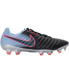 Nike Tiempo Legacy III FG Soccer Cleats (Black/Armory Navy/Light Armory Blue)