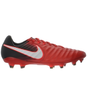 Nike Tiempo Legacy III FG Soccer Cleats (University Red/White/Black)