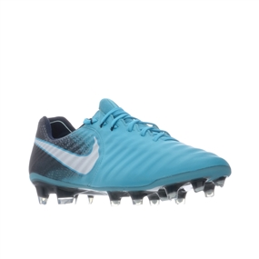 a48d702a4cce Nike Tiempo Legend VII FG Soccer Cleats (Gamma Blue White Obsidian Glacier  Blue)