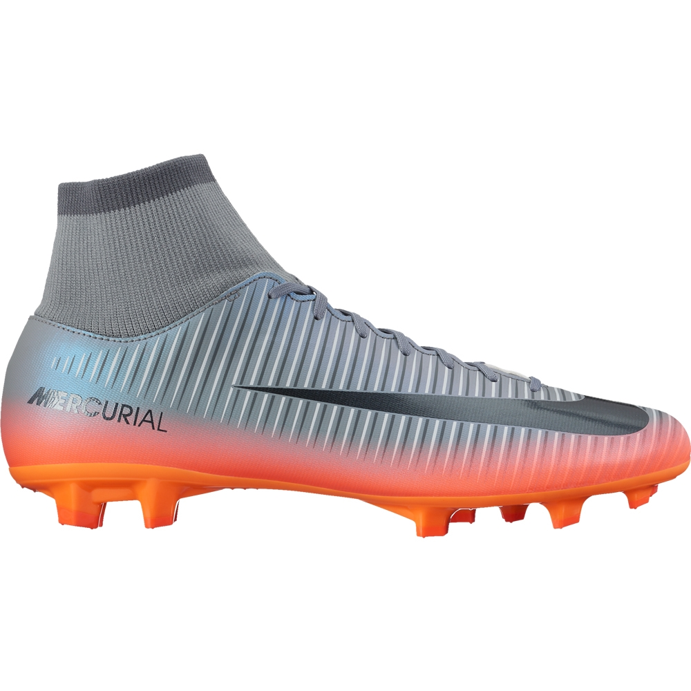 low priced 044a6 05c52 Nike Mercurial Victory VI CR7 DF FG Soccer Cleats (Cool Grey/Metallic  Hematite/Wolf Grey)