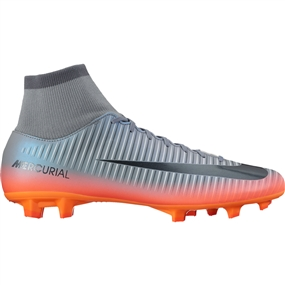 Nike Mercurial Victory VI CR7 DF FG Soccer Cleats (Cool Grey/Metallic Hematite/Wolf Grey)